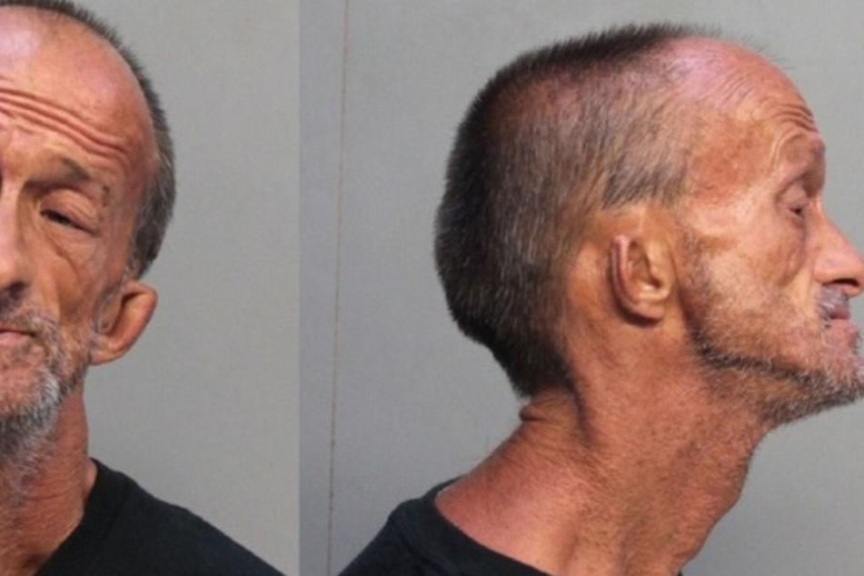 Der obdachlose Jonathan Crenshaw (46) ist Straßenkünstler im Miami.