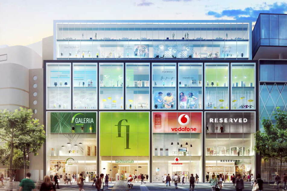 """Signa hat unter anderem das im Bau befindliche """"Upper Zeil""""-Einkaufszentrum. (Symbolbild)"""