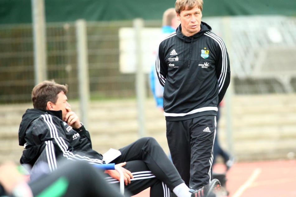 Trainer Sven Köhler sieht bei seiner Mannschaft kein Fitnessproblem.