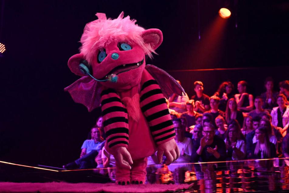 Das pinke Monster hat viele Fans in der Show, steht nächste Woche im Finale.