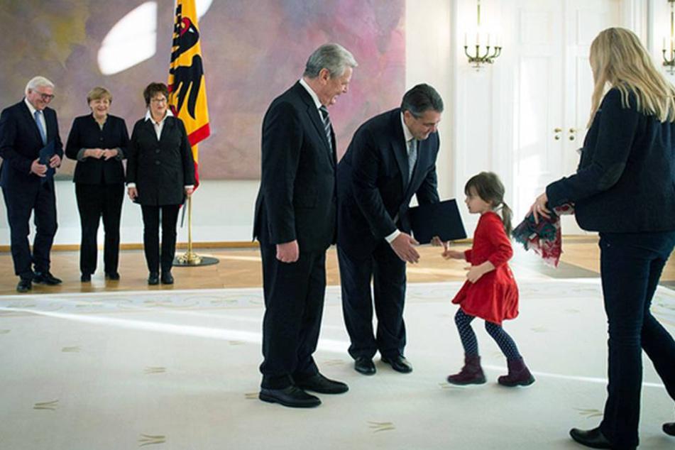Mein Papa ist jetzt Außenminister!
