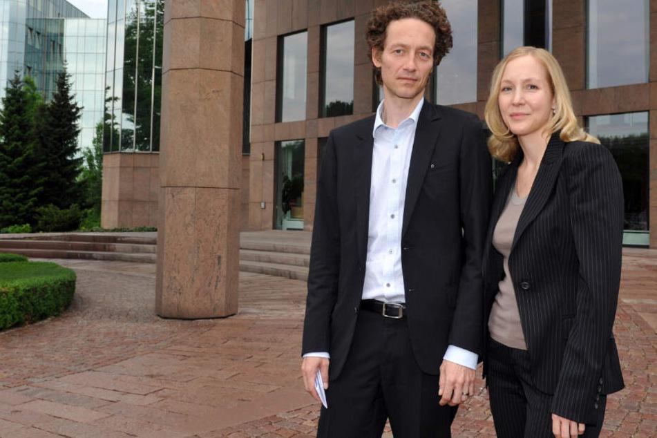 Lars und Meike Schlecker sind jeweils zu zwei Jahren und sieben Monaten Haft verurteilt. (Archivbild)