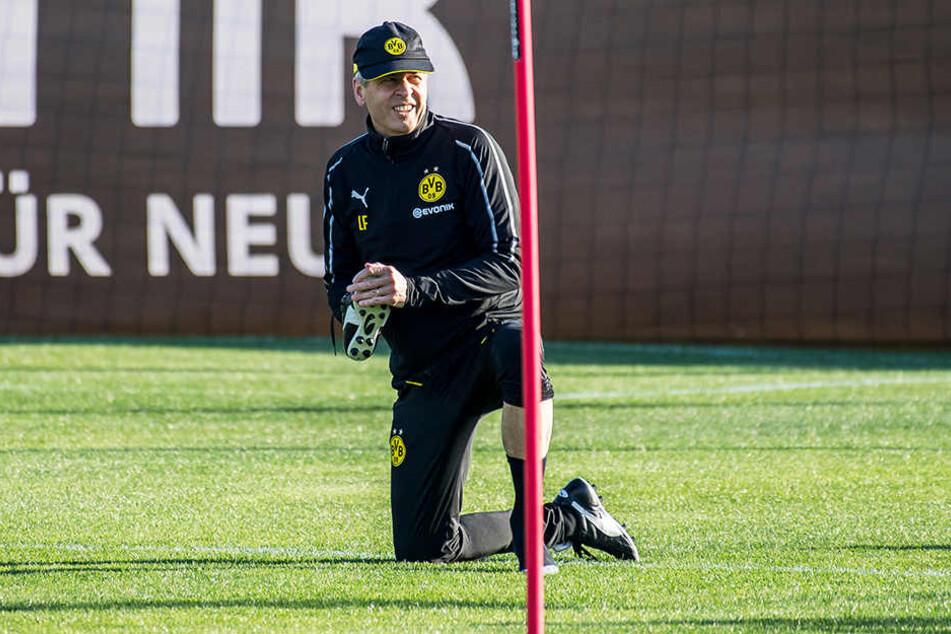 BVB-Coach Lucien Favre weilt momentan mit seiner Mannschaft im Trainingslager in Marbella (Spanien) und hat viele Verletzte zu beklagen.
