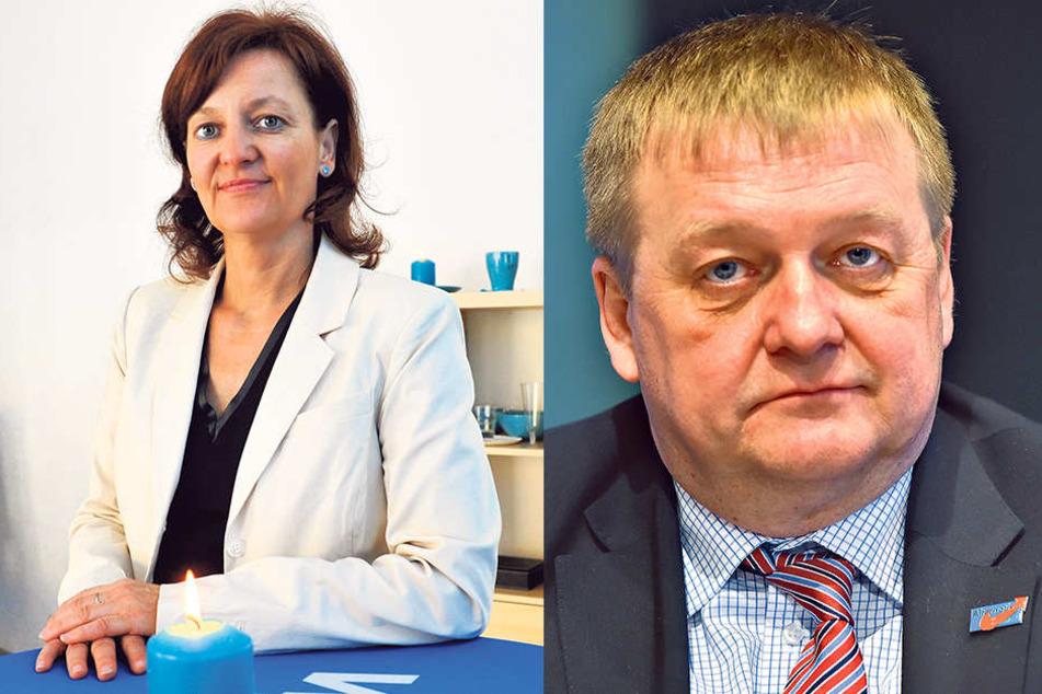 Andrea Kersten (51) und Sven Simon (55, re.).