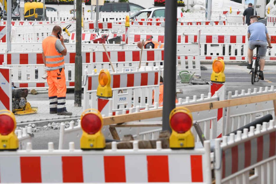 Für Baustelle vor der Haustür muss in Thüringen nun nicht mehr gezahlt werden. (Symbolbild)