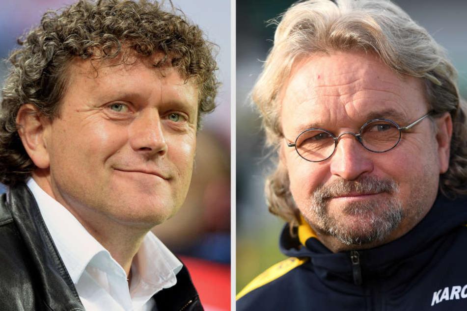 Olaf Marschall und Heiko Scholz liefen in Leipzig im Europapokal auf.