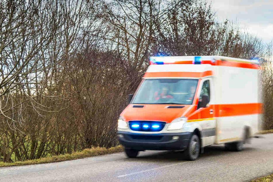 Die weibliche Person wurde ins Krankenhaus gebracht, konnte aber nicht mehr gerettet werden.