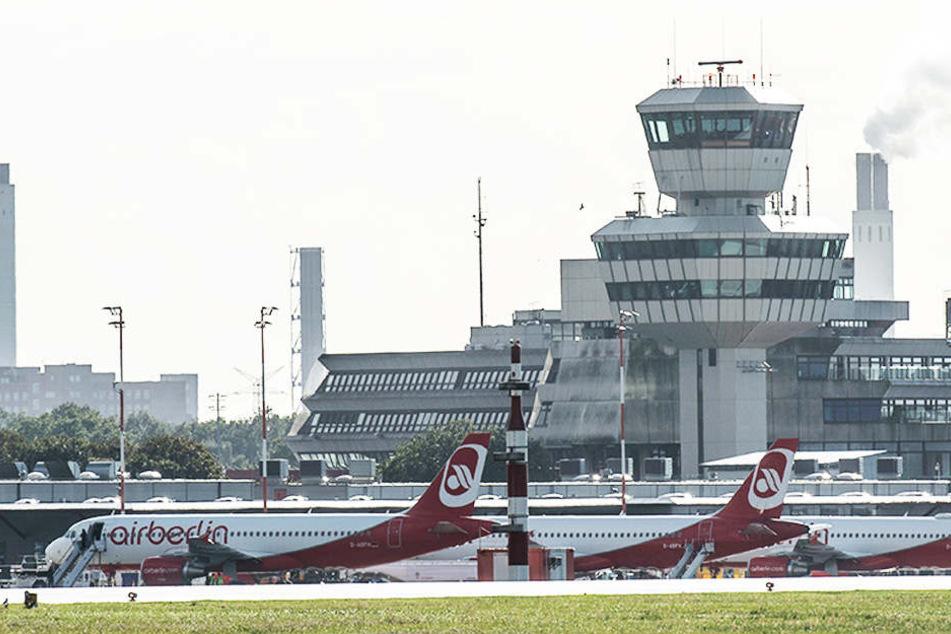 Um auf einen möglichen Ausfall von Air-Berlin-Mitarbeiter reagieren zu können, wurde gesondertes Personal angefordert.