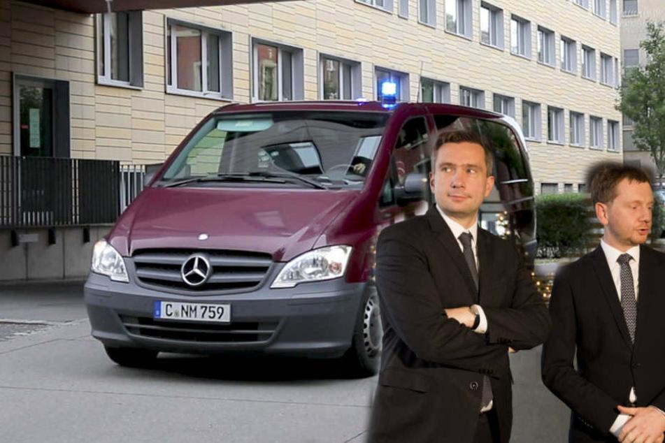 """Haftbefehl landete im Netz: Für Dulig und Kretschmer """"Skandalöser Vorgang"""""""
