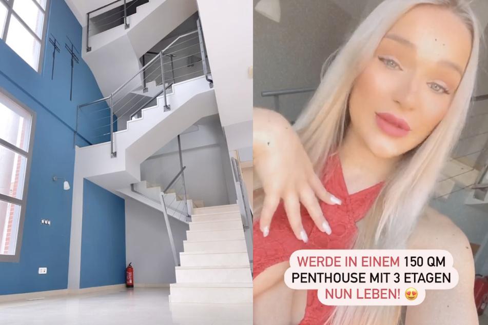 Emmy Russ (21) hat sich ihr erstes eigenes Haus gekauft.