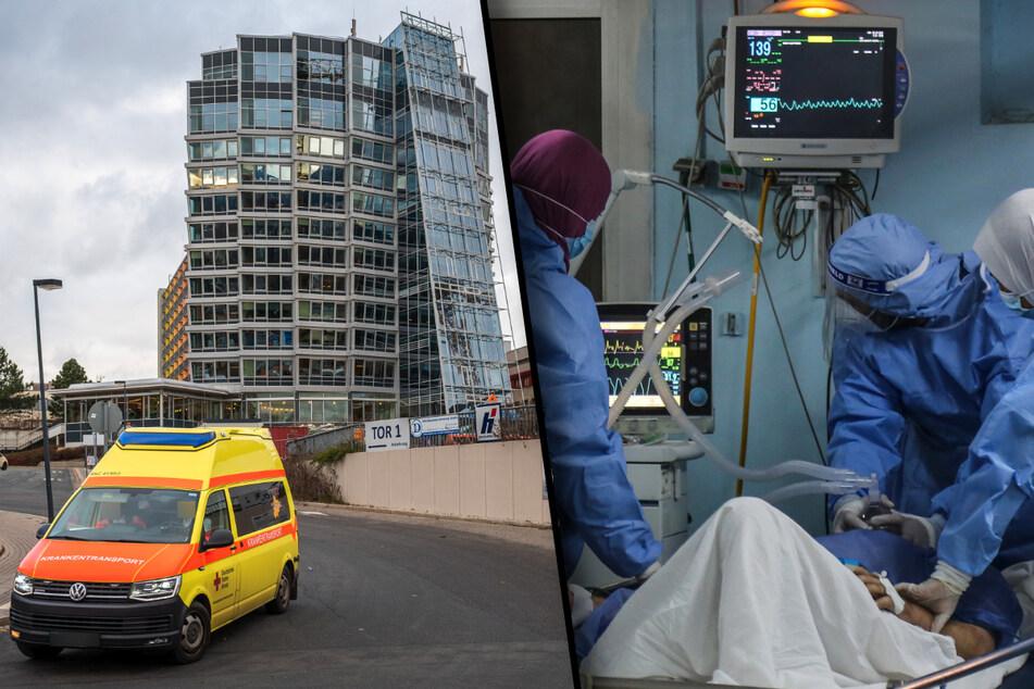 Chemnitz: Krankenhaus weiter an Belastungsgrenze! Chemnitzer Intensiv-Patienten werden nach Dresden und Leipzig verlegt