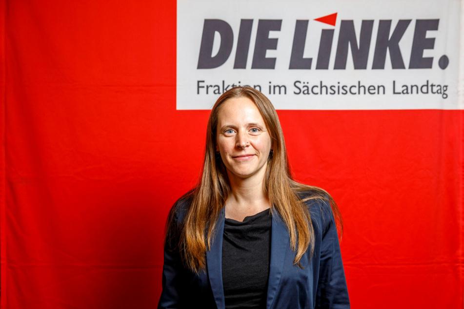 Sarah Buddeberg (38, Linke).