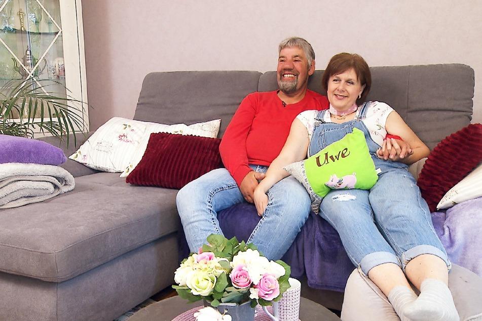 """2011 lernten sich Uwe und Iris bei """"Bauer sucht Frau"""" kennen und lieben."""