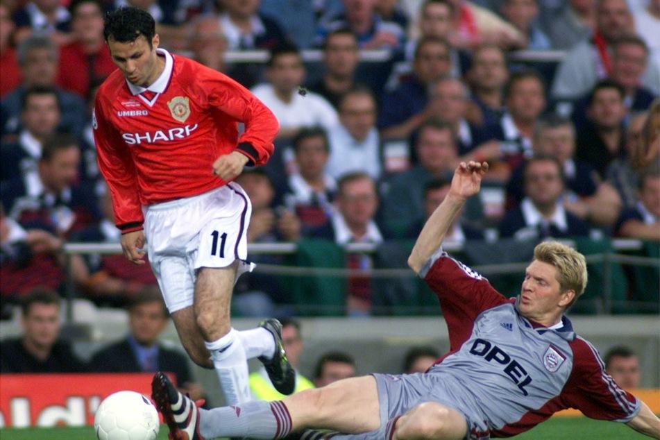 1999 besiegte Ryan Giggs mit Manchester United die Münchner Bayern im Champions-League-Finale.