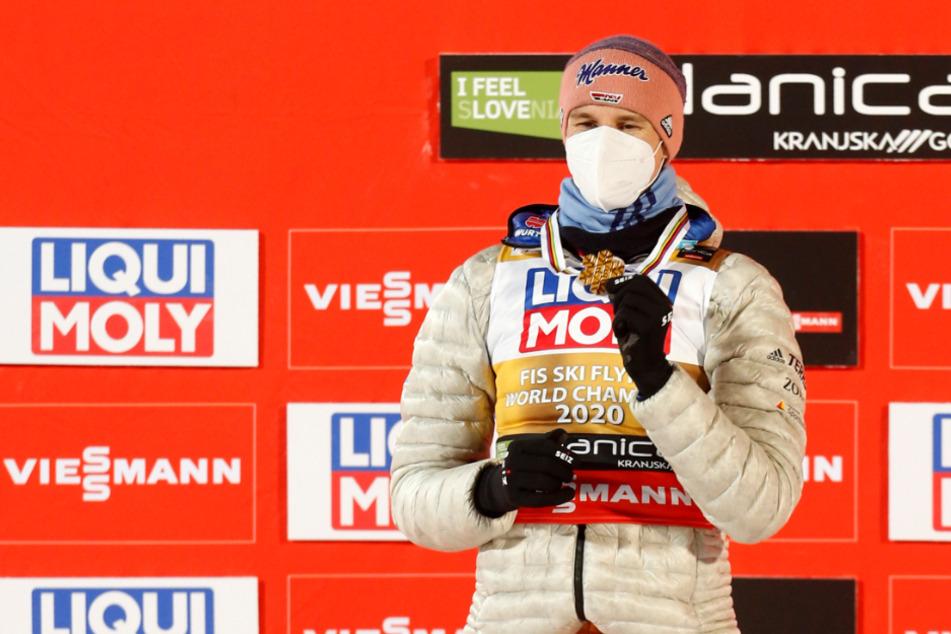 Aufatmen bei Karl Geiger: Skiflug-Weltmeister bei Vierschanzentournee dabei!