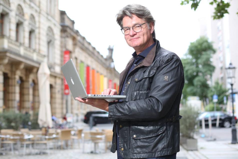 """In 18 Jahren half Peter Escher in der MDR-Sendung """"Ein Fall für Escher"""" rund 3000 Menschen."""