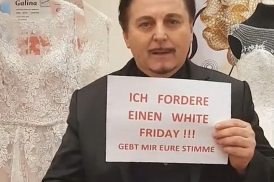 """Uwe Herrmann will einen """"White Friday"""" für alle..."""