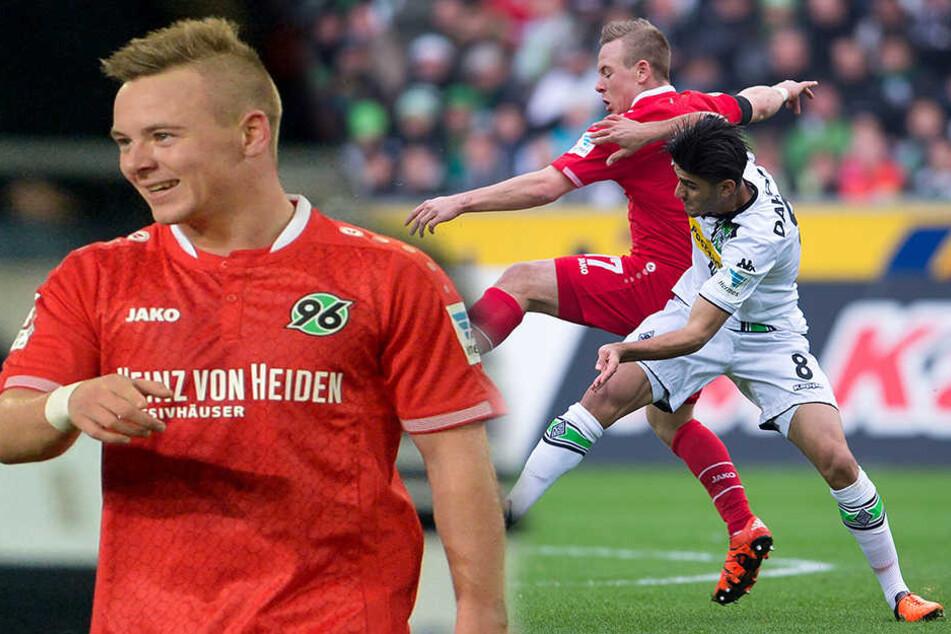 Hannover-Profi beisst Schalke-Fan in den Arm