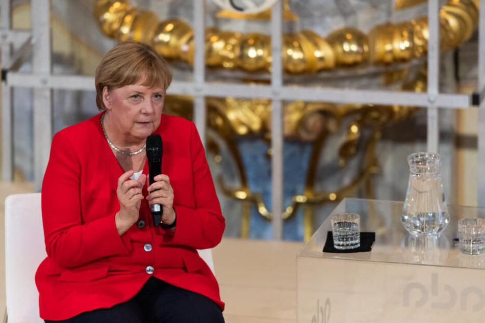 Dresden: Angela Merkel besucht am Abend die Dresdner Frauenkirche