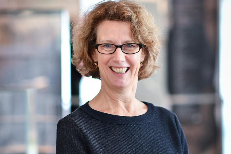 Museumschefin Sabine Wolfram.