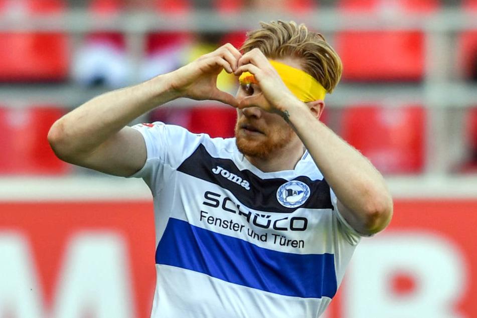 Andreas Voglsammer bleibt vorerst beim DSC Arminia Bielefeld.