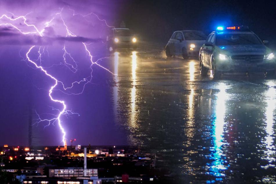 Vorsicht! Wetterdienst warnt wieder vor schweren Unwettern!