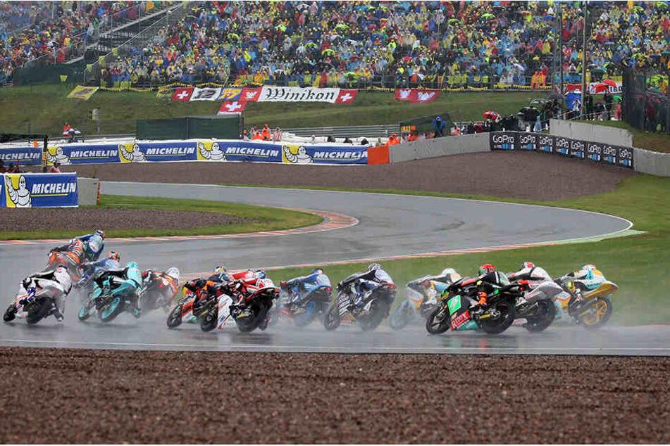 Die MotoGP bleibt weitere fünf Jahre auf dem Sachsenring.