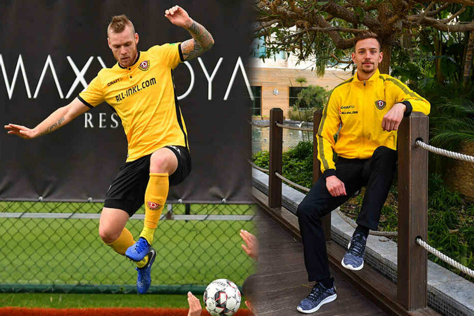 Brian Hamalainen (l.) und Jannik Müller sind neu im Mannschaftsrat.