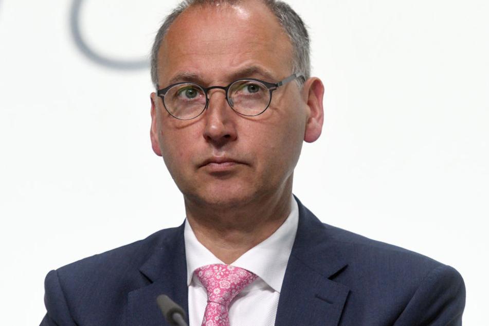Werner Baumann, Vorstandschef bei Bayer.