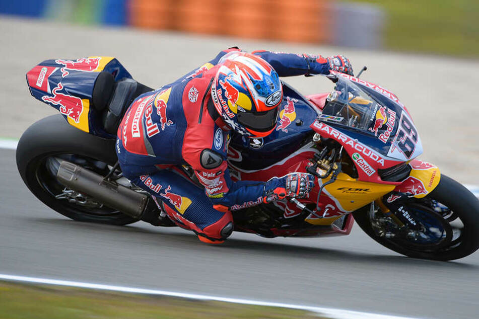 In dieser Saison ist der Motorrad-Pilot für Red Bull (Honda) unterwegs.