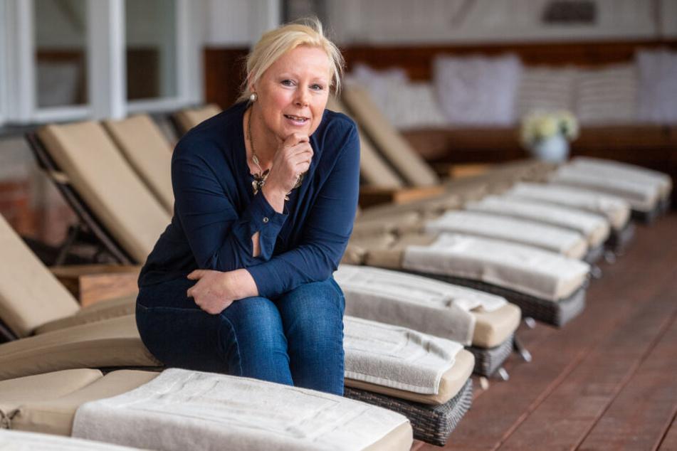 Ines Perthel (51) betreibt die beliebteste Sauna Sachsens.
