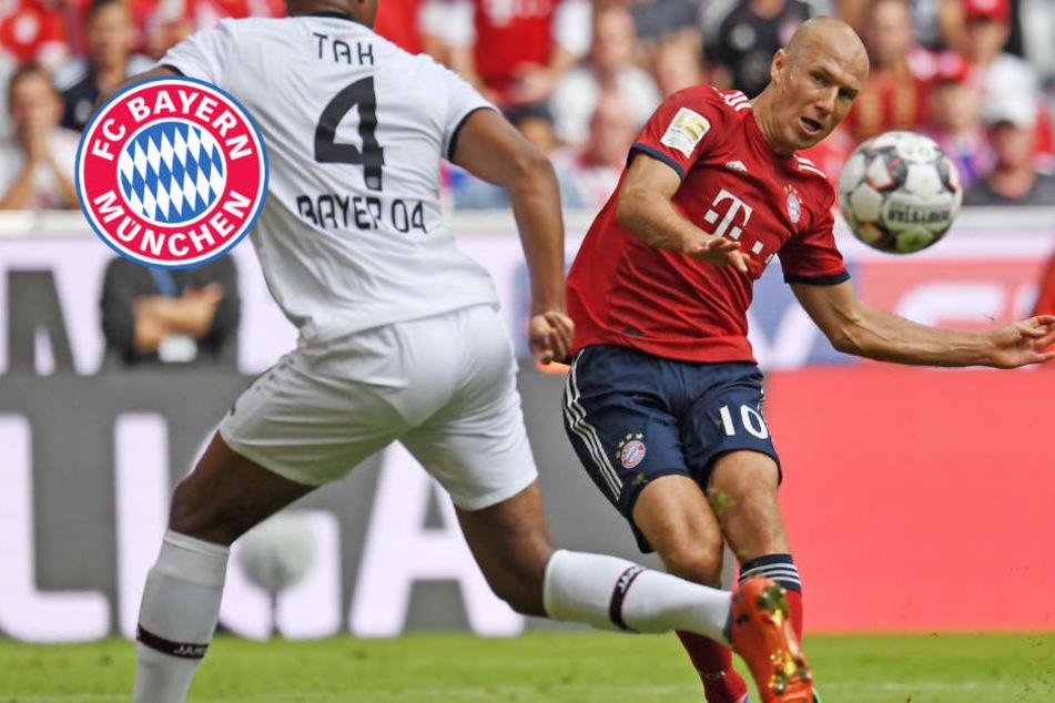 Bayern dominiert Werkself: Robben trifft per Traumtor, Sorge um Tolisso