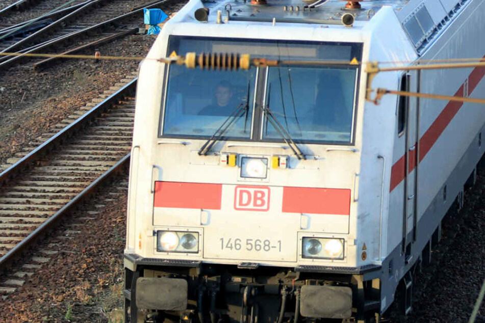 Ein IC der Deutschen Bahn.