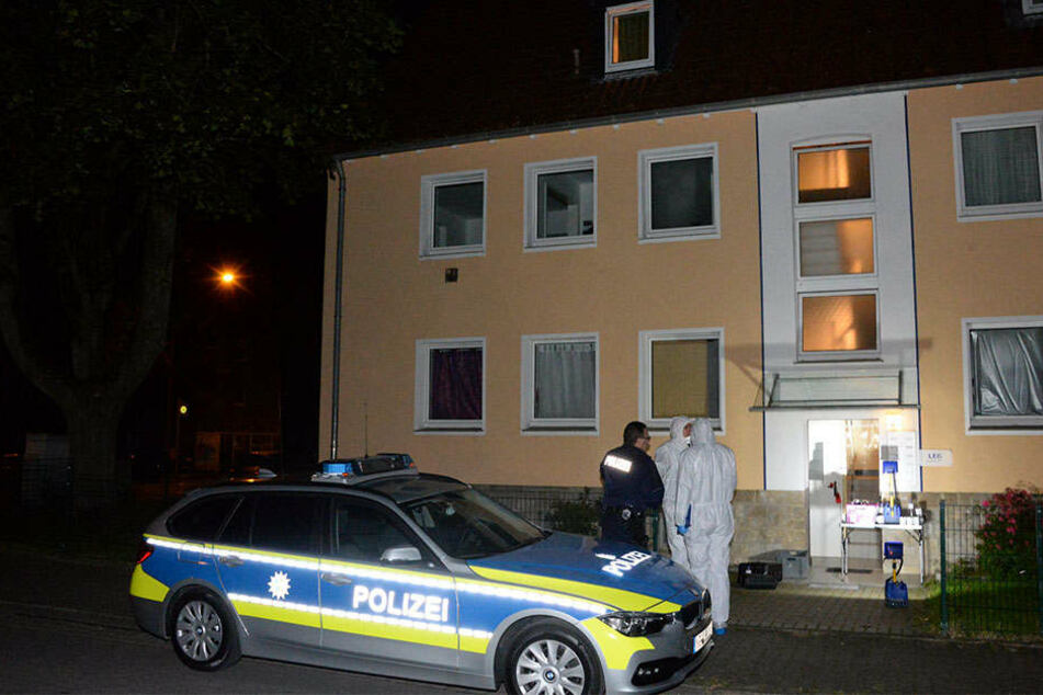 In der Wohnung in Detmold wurden die zwei Leichen gefunden.