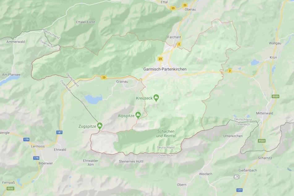 In Garmisch-Partenkirchen ist es in Bayern zu einem schrecklichen Unfall gekommen.