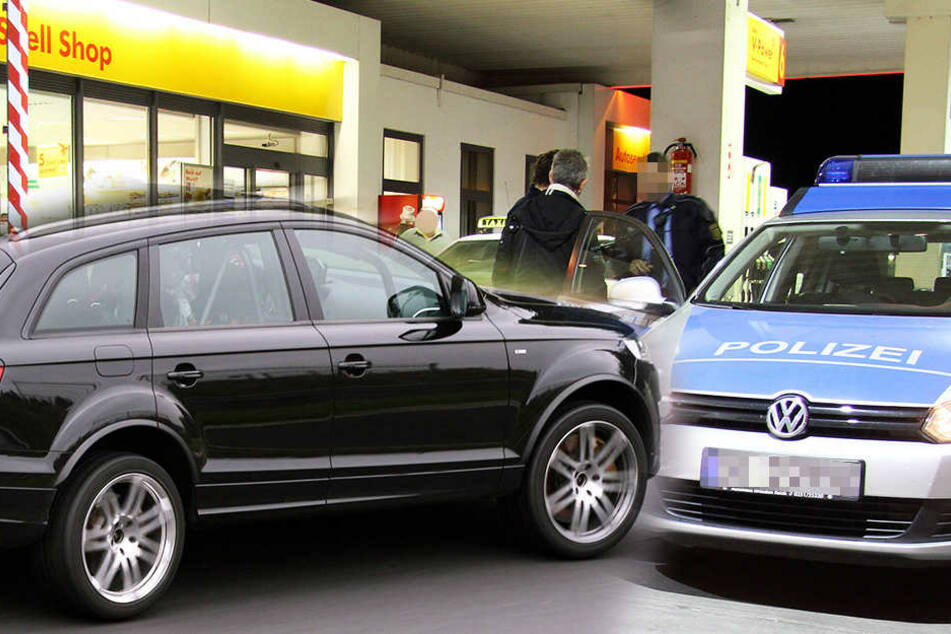 Der 16-Jährige beging an der Tankstelle Löbtauer Straße Tankbetrug und flüchtete mit dem Q7.