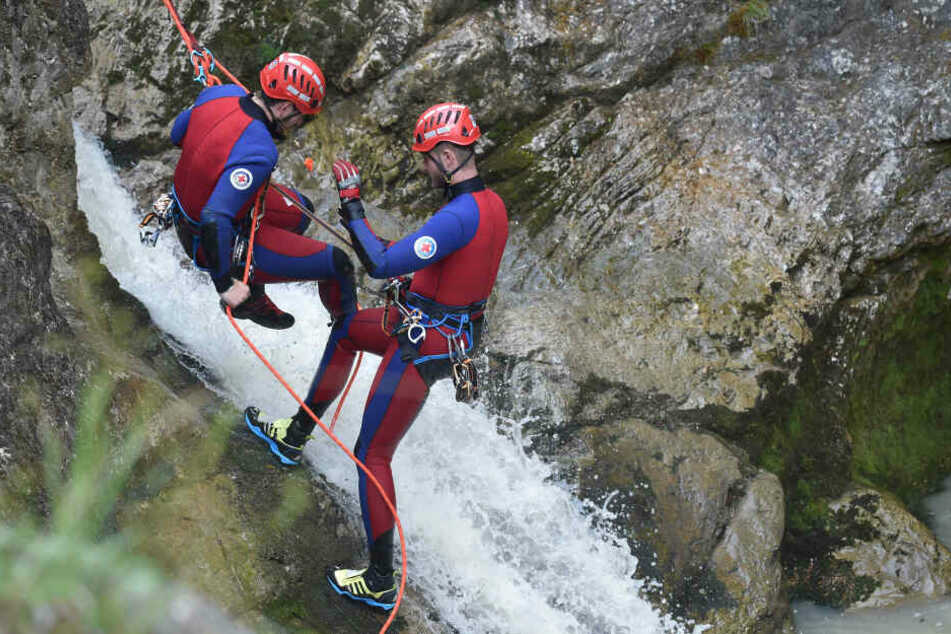 Münchner stirbt beim Canyoning in den Alpen