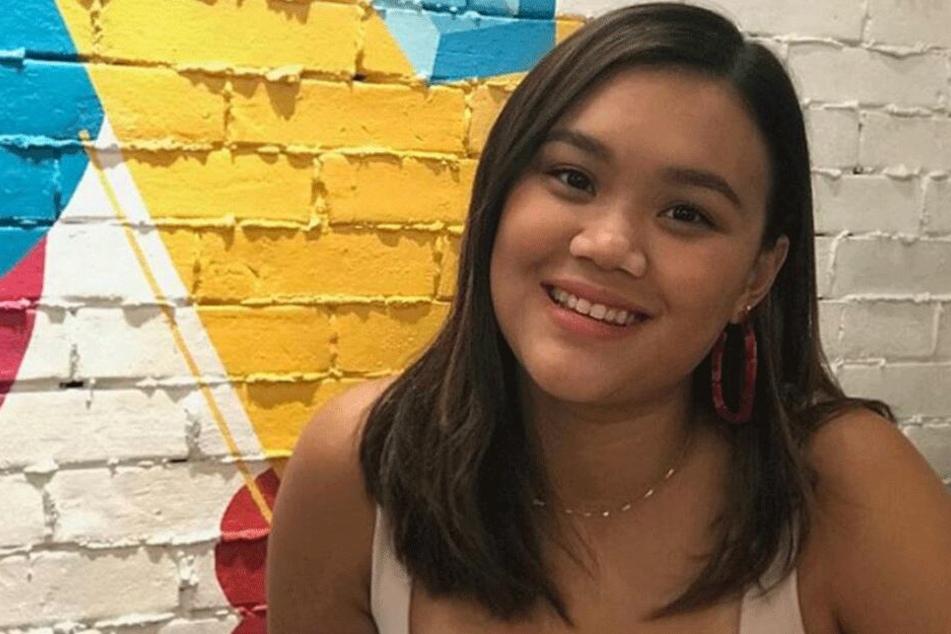 Sandra Pineda (22) freute sich über die Aufmerksamkeit.