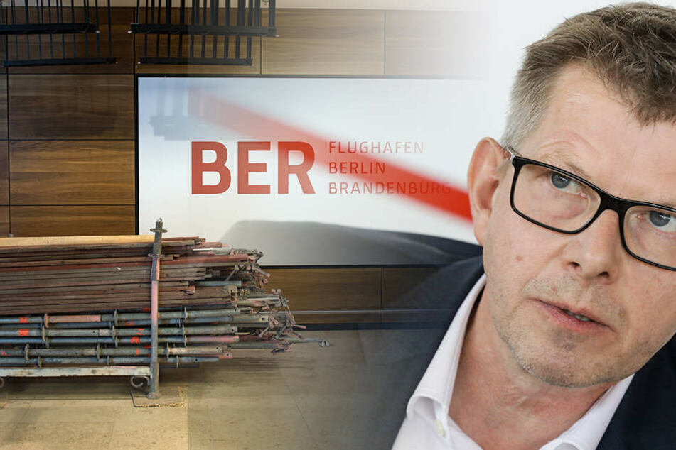 Lufthansa-Vorstand Thorsten Dirks prognostizierte einen Abriss des BER.