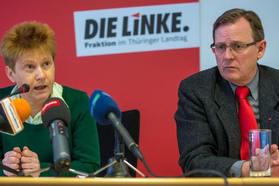 Rechtsstreit der besonderen Art: Linkenpolitiker wollen Akten von Verfassungsschutz einsehen