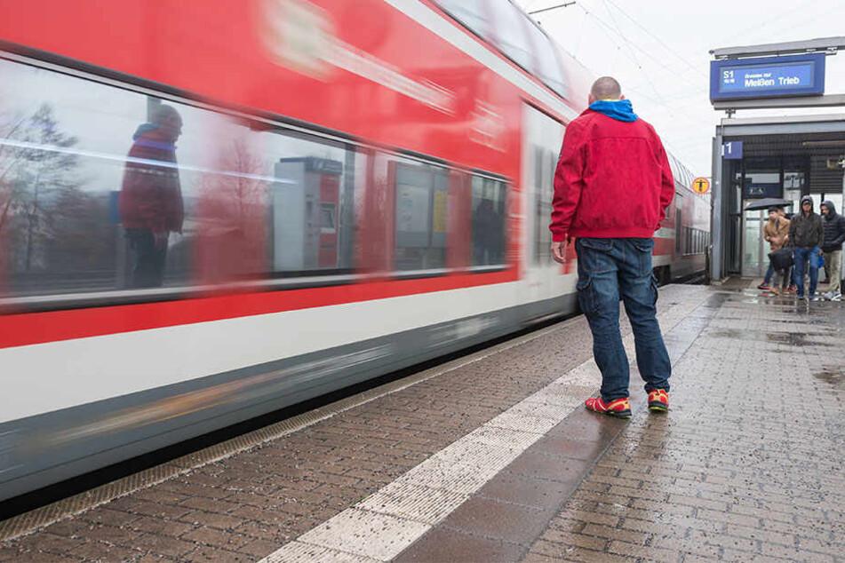 Das Opfer wurde am S-Bahnhof Zschachwitz attackiert.