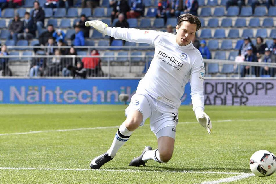 Daniel Davari (29) ist bei Arminia Bielefeld nicht unumstritten.