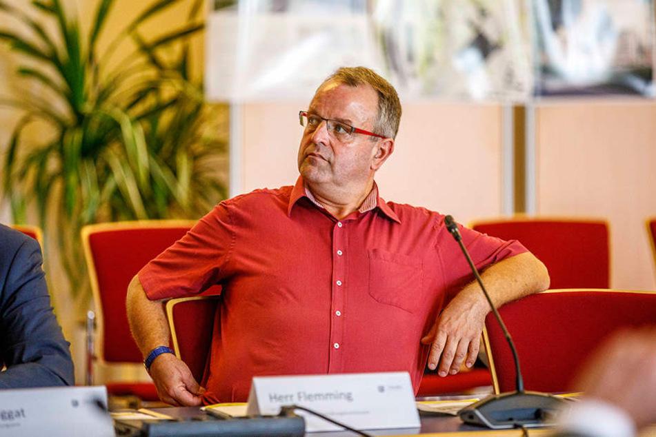 Stadtrat Ingo Flemming (50, CDU).