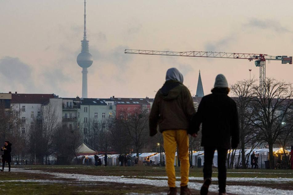Am Eingang des Berliner Mauerparks wurde bei Bauarbeiten ein spektakulärer Fund gemacht.