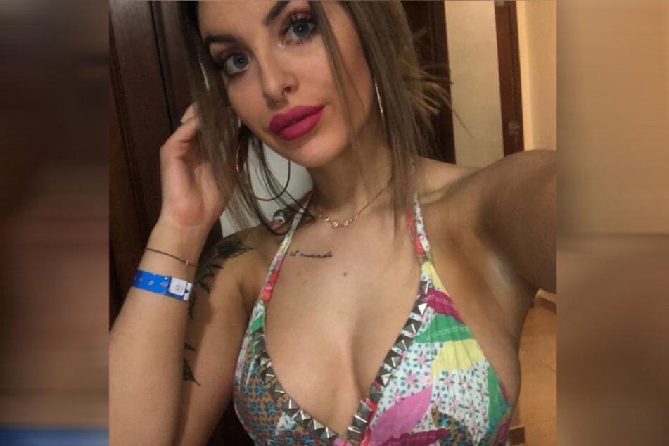 Freya King (22) auf einem Facebook-Selfie.