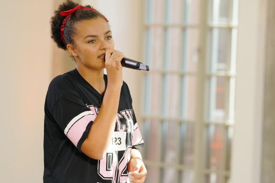 Dank Sängerin Carolin Niemczyk im Auslands-Recall: Chantal (16) aus Untereisesheim.