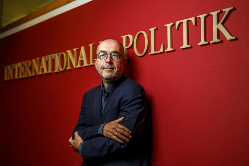 Professor Mark Arenhövel (58) von der TU Dresden. Zu seinen Forschungsschwerpunkten zählen Politische und Demokratie-Theorie.