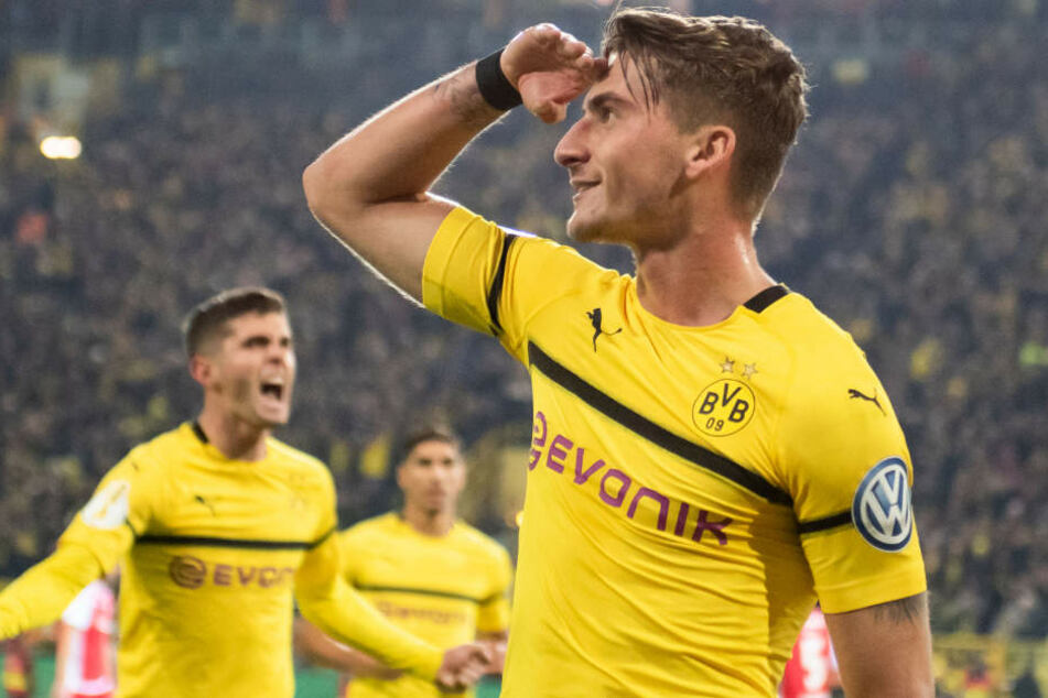 Erzielte in der vergangenen Saison neun Bundesliga-Treffer für Borussia Dortmund: Maximilian Philipp.
