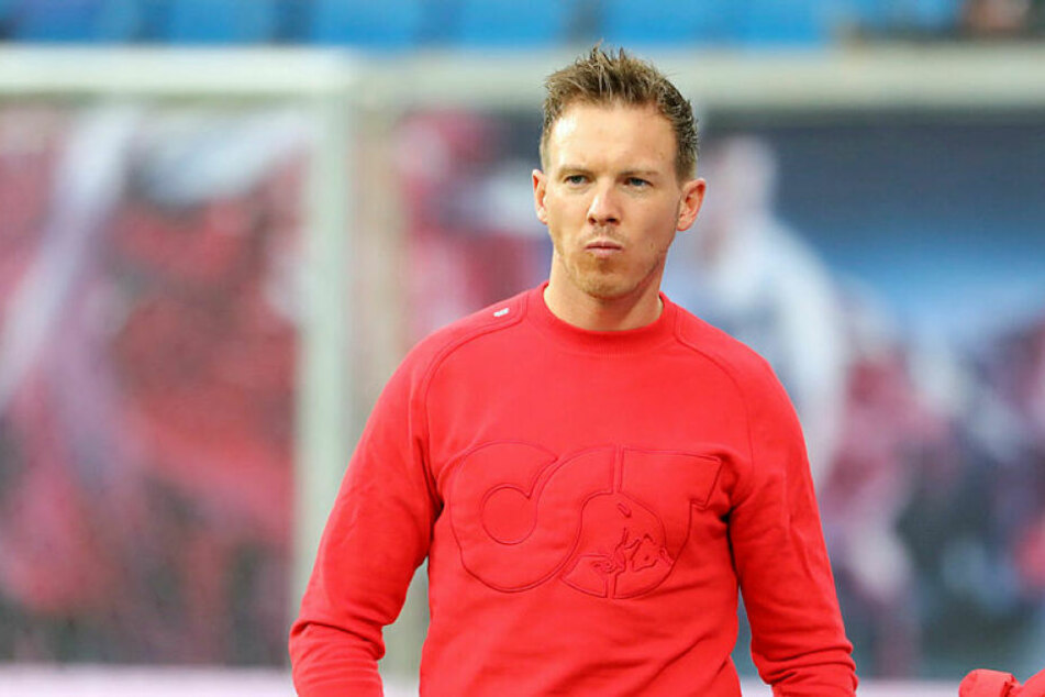 Julian Nagelsmann hat mit RB Leipzig Platz zwei gefestigt, liegt nach fünf Siegen in Serie weiterhin einen Punkt hinter Spitzenreiter Borussia Mönchengladbach.