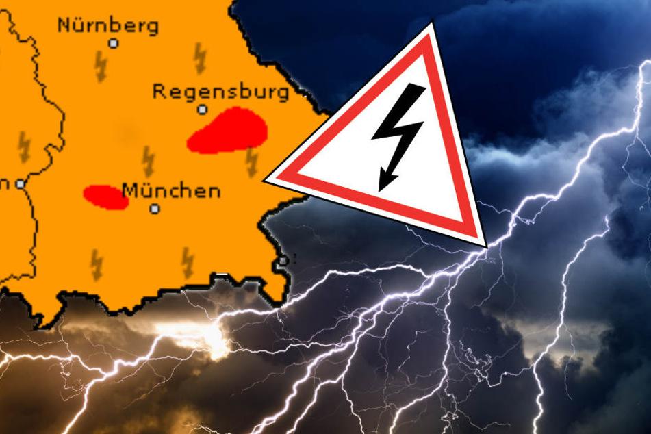 Unwetterwarnung München